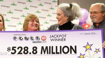 Powerball Jackpot Winner