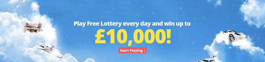 FREE-LOTTERY Lotto banner