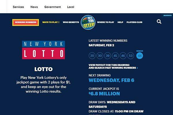 New York Ny Lottery Top 10 Best Online Lotto