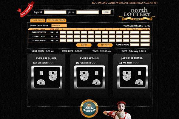 North Lottery Online Screenshot