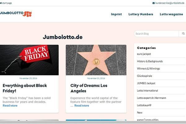 Jumbo Lotto - Top 10 Best Online Lotto
