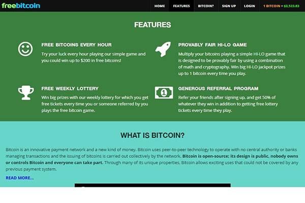 Free Bitcoin Sign Up