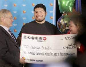 Manuel Franco Powerball Lottery Winner
