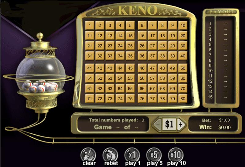 keno online guide